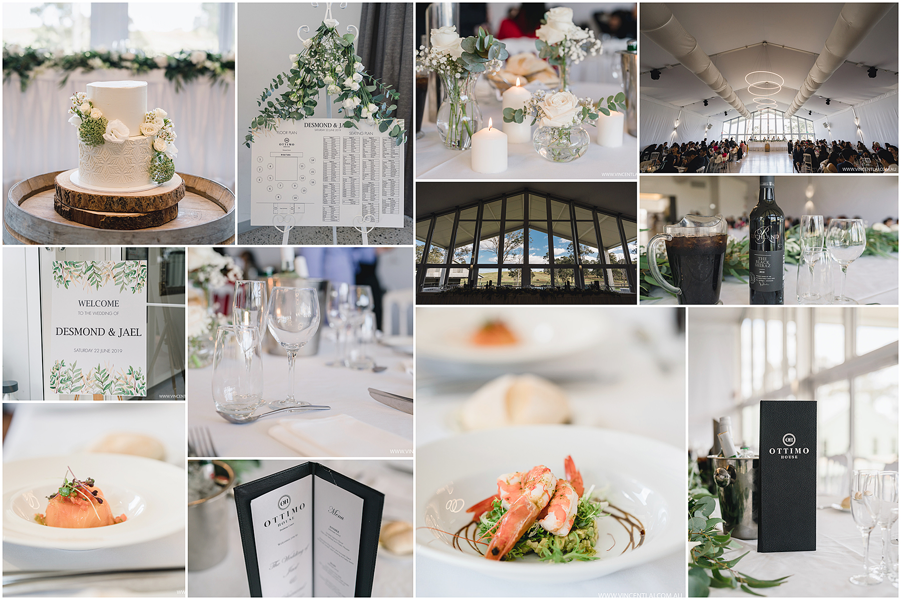 Wedding at Ottimo House Denham Court Marquee