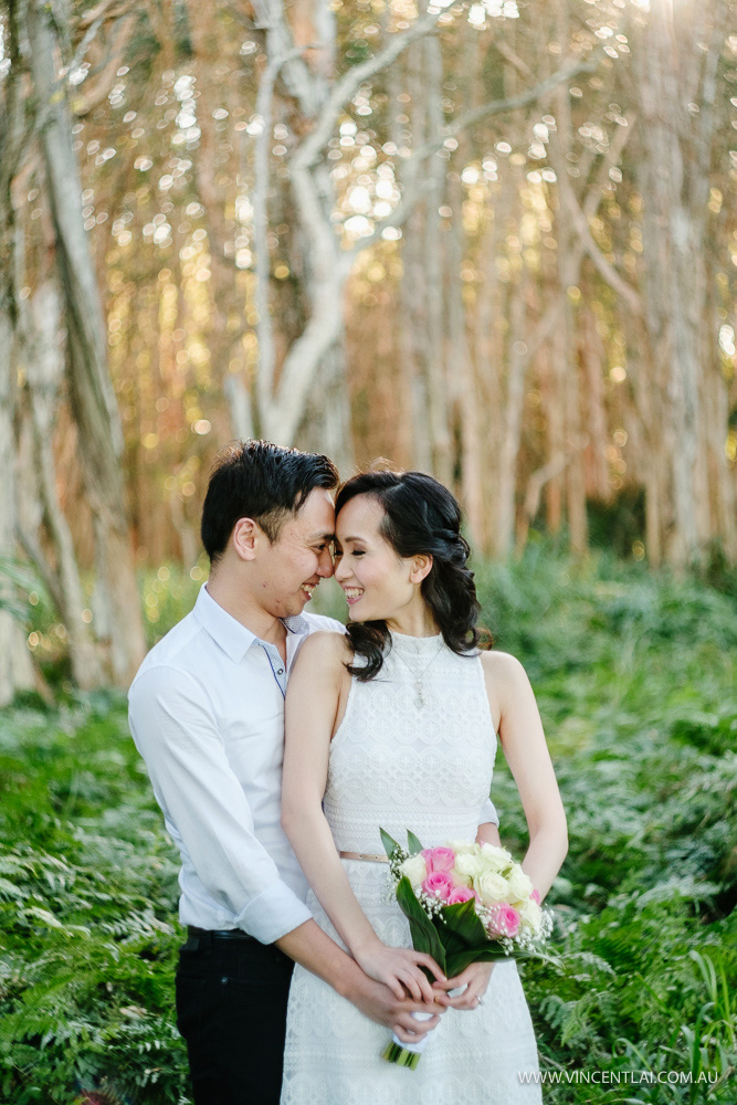 Sydney Winter Engagement Photography
