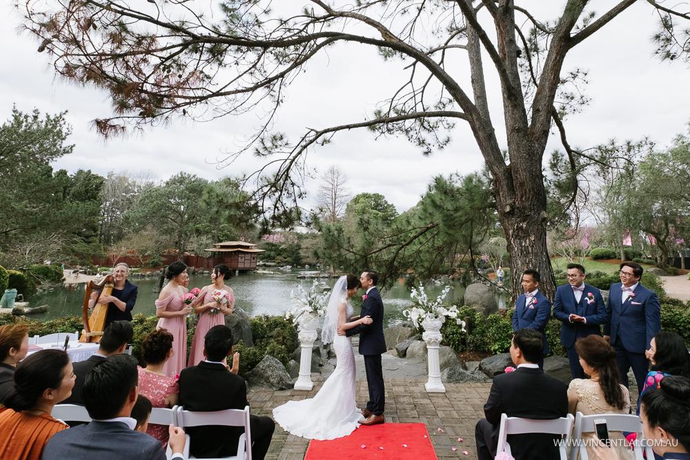 Auburn Botanic Gardens Wedding Japanese Garden Liberty Palace