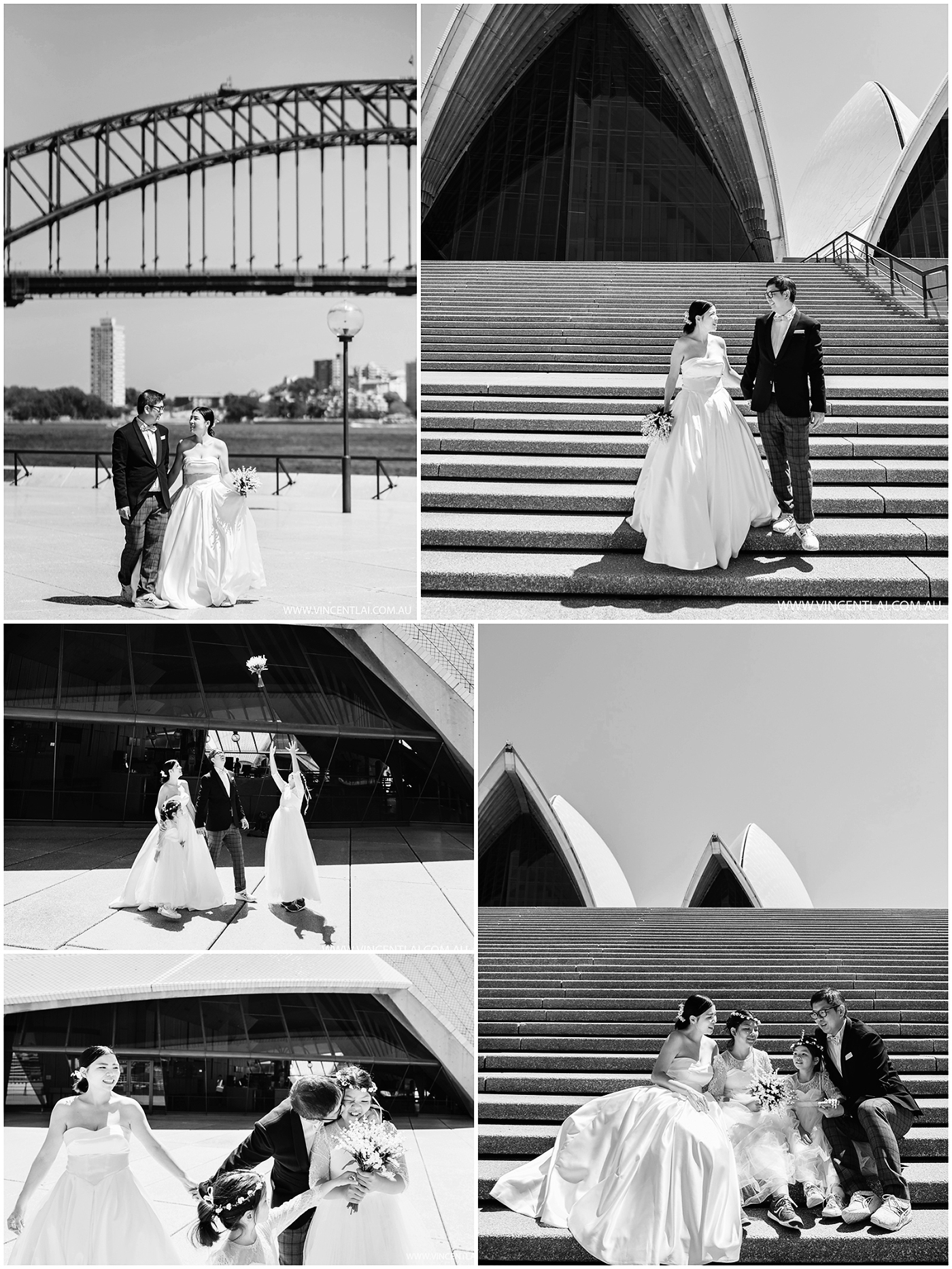Sydney Opera House Family Photos