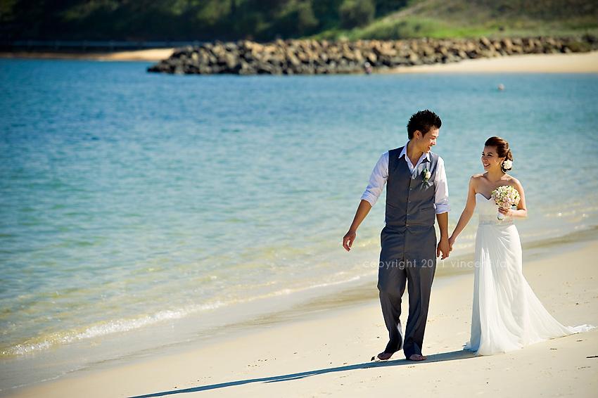 La Wedding Photography: La Perouse Pre Wedding Photo Session