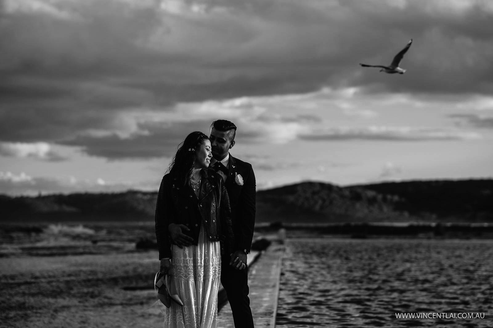 Merewether Beach Surfhouse Wedding