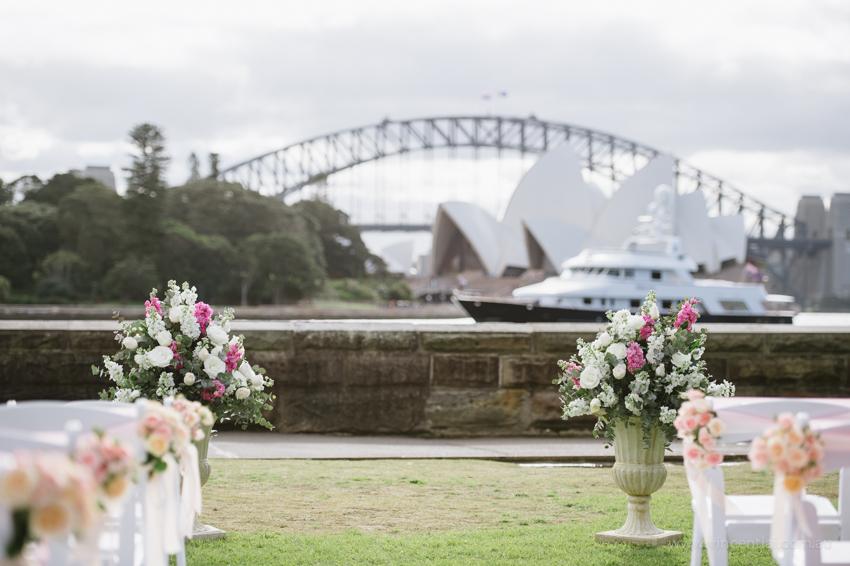 Botanic garden sydney wedding venues