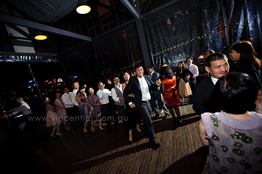 Wharf restaurant sydney wedding