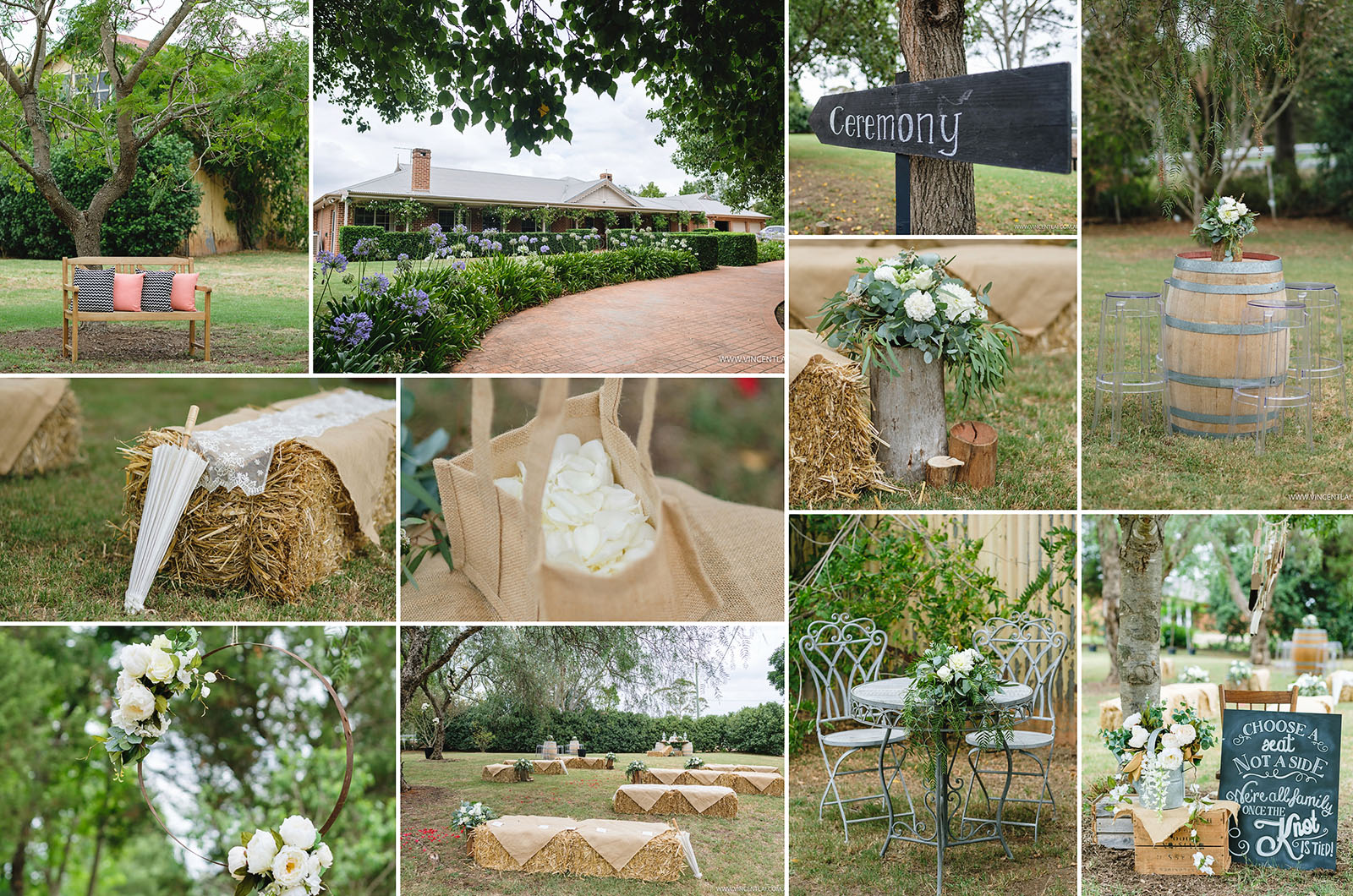 Relaxed Documentary Country Weddings