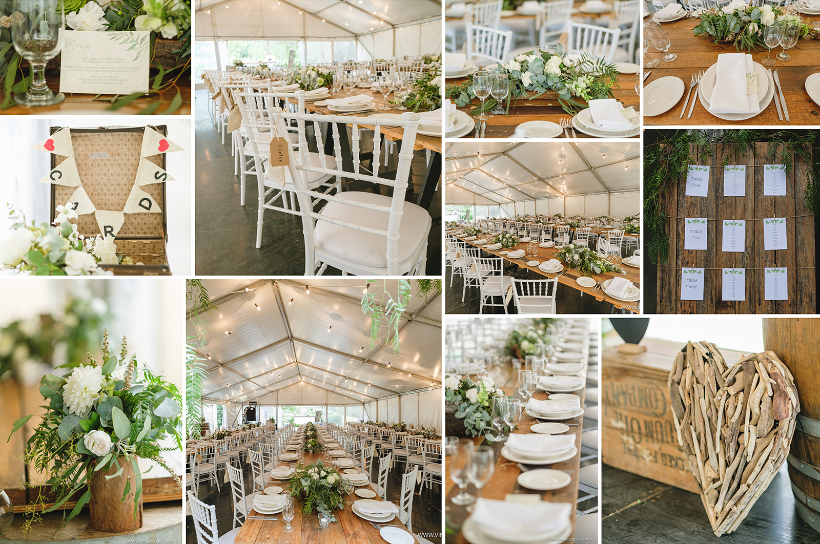 Marquee Wedding Setup Styling