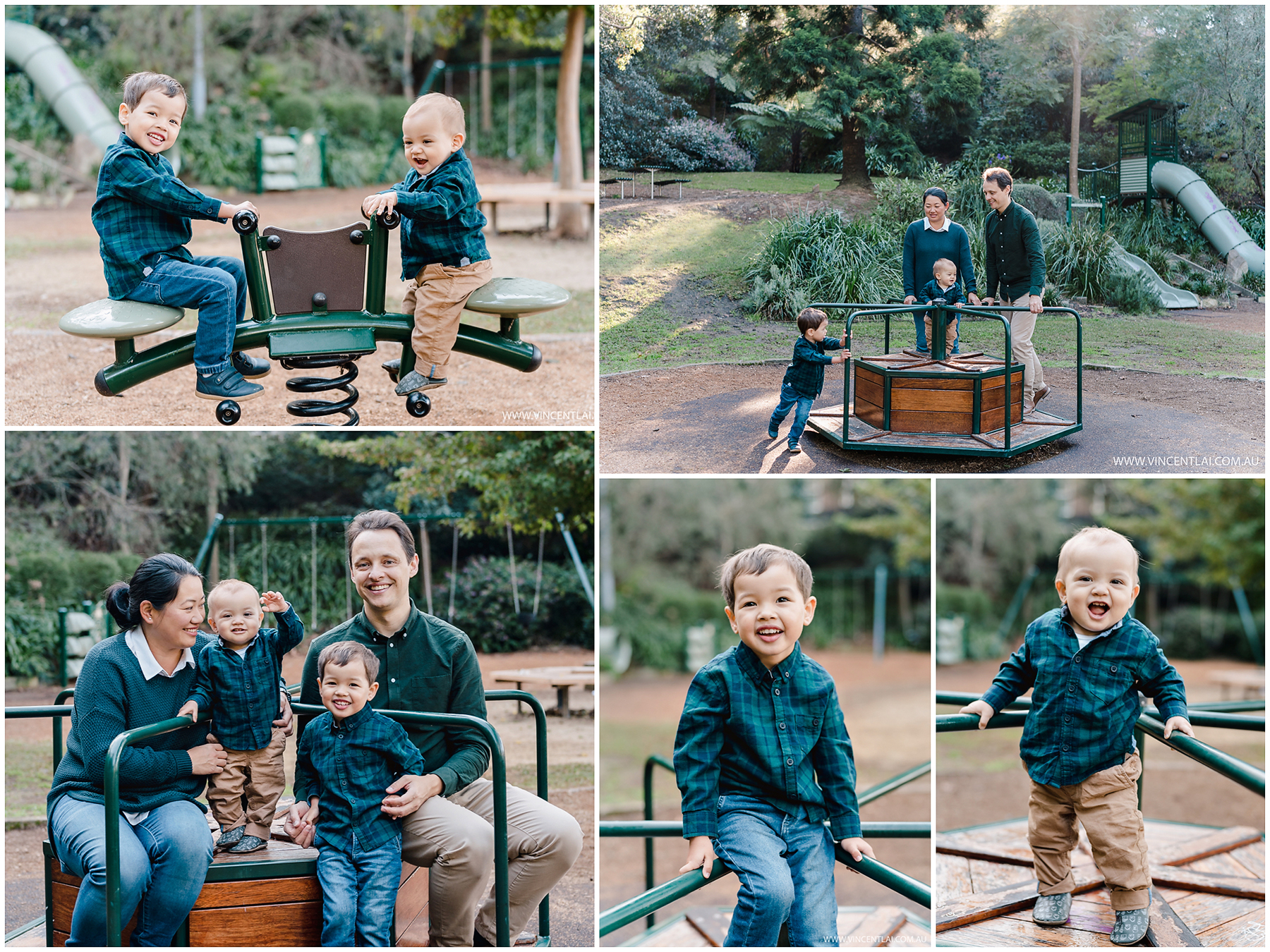 Autumn Family Photos at Lavender Bay
