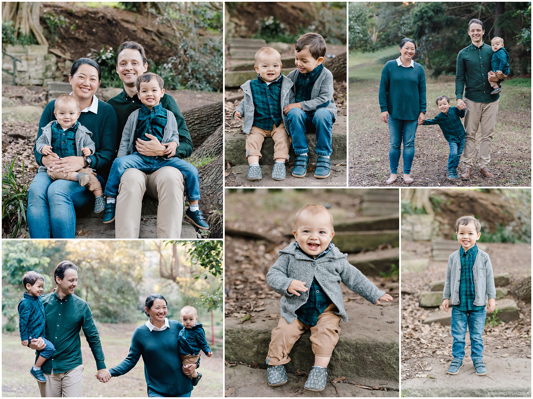 Family Photos at Lavender Bay North Sydney