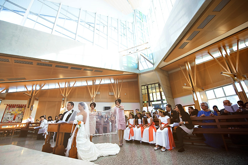 Cord and Veil wedding ceremony