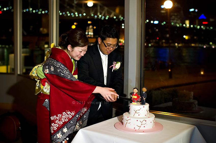 Sails Restaurant Wedding Reception Observatory Hill