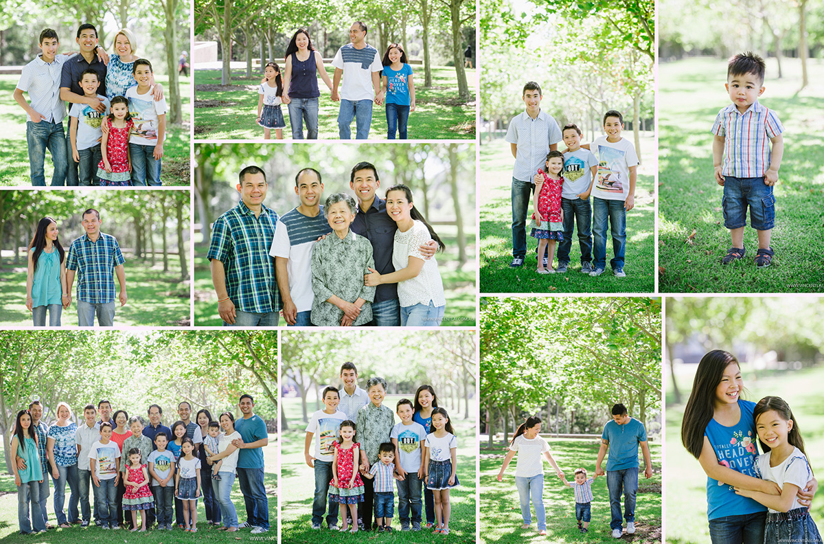 Extended Family Photo Session at Bicentennial Park