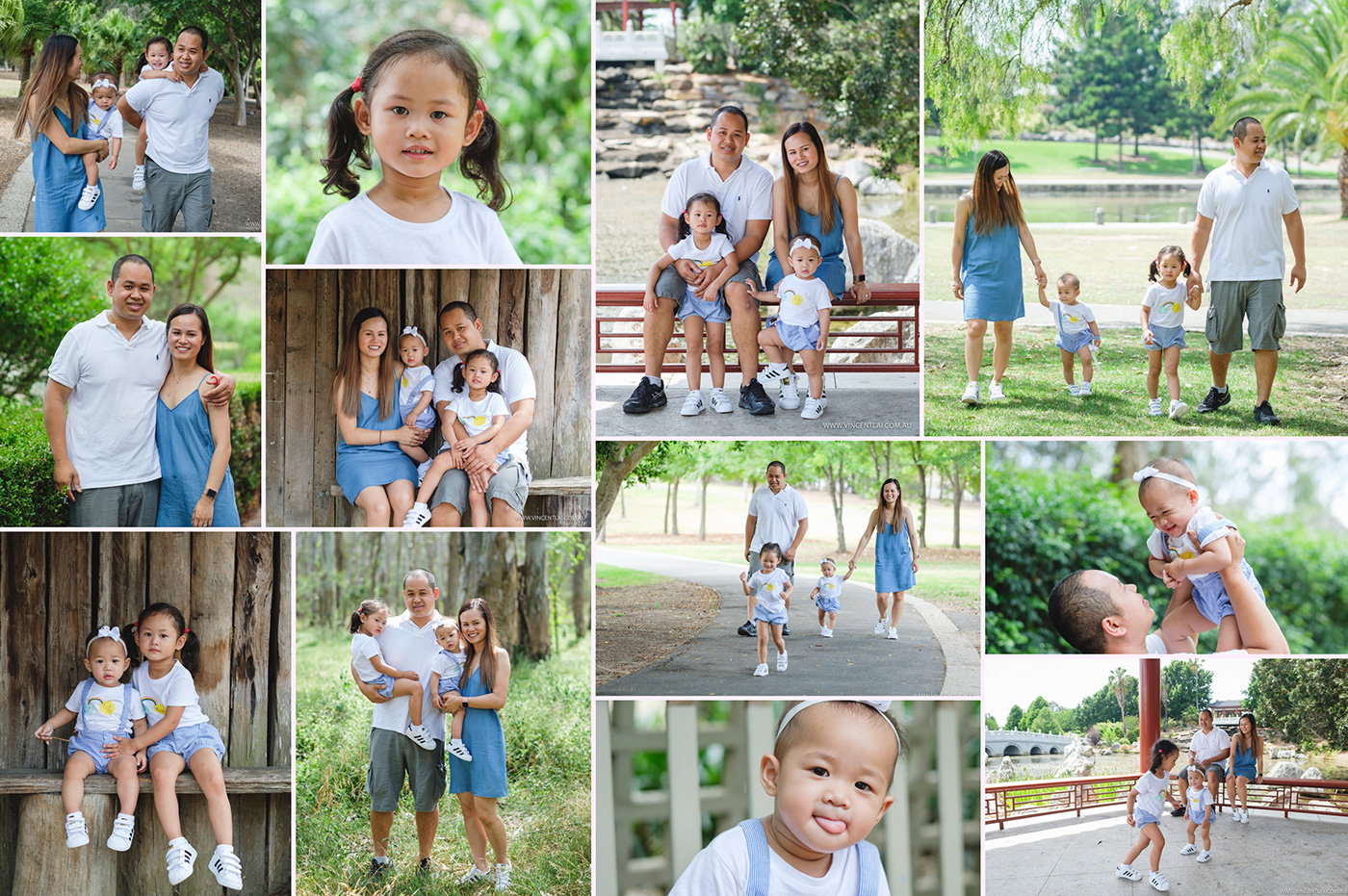 Family Photo Session at Nurragingy Reserve