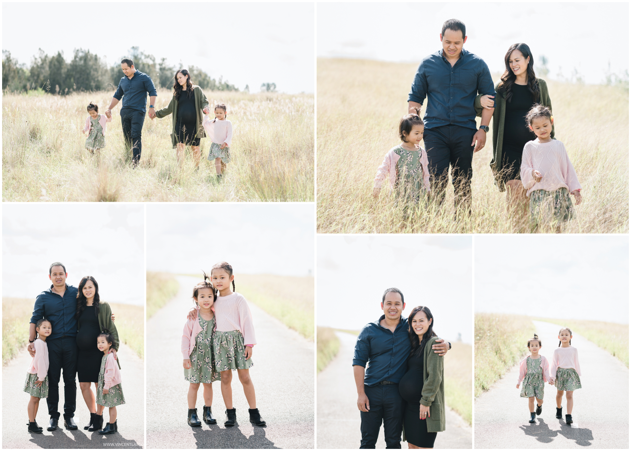 Outdoor Lifestyle Family Portrait Photography