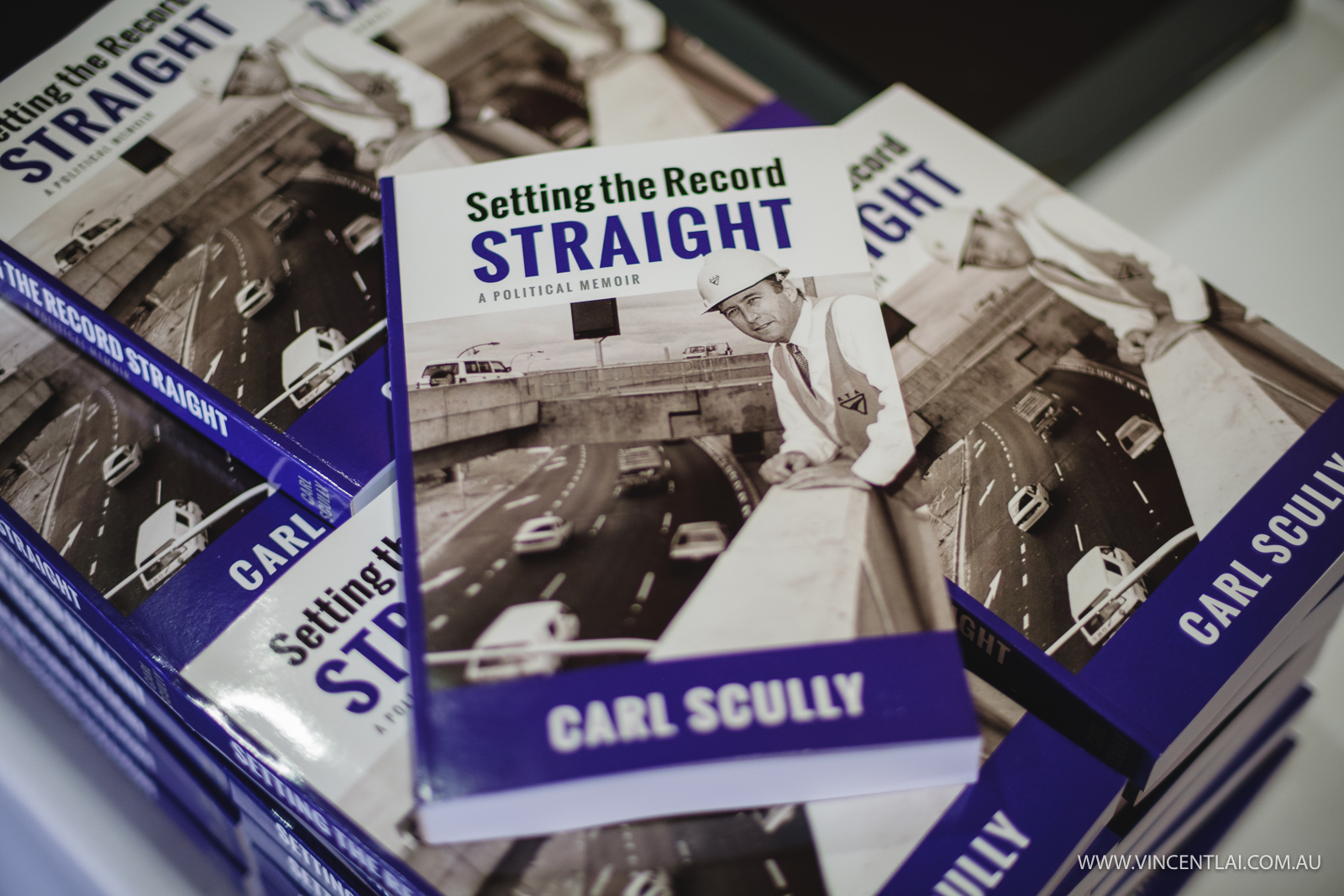 Carl Scully Setting the Record Straight A Political Memoir Book Launch