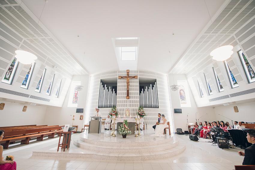 Our Lady Of The Rosary Catholic Church Wedding Fairfield