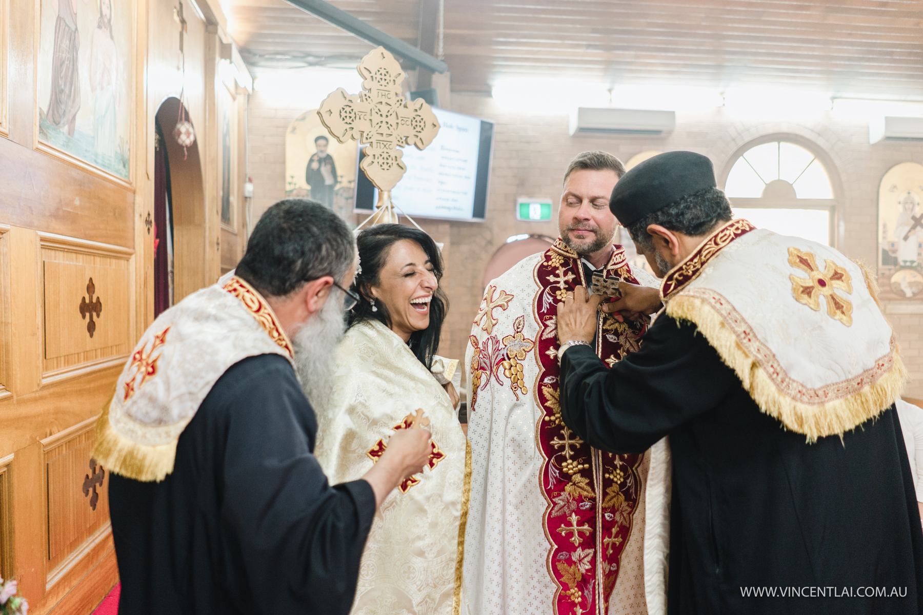 Archangel Michael & St Bishoy Coptic Orthodox Church Wedding
