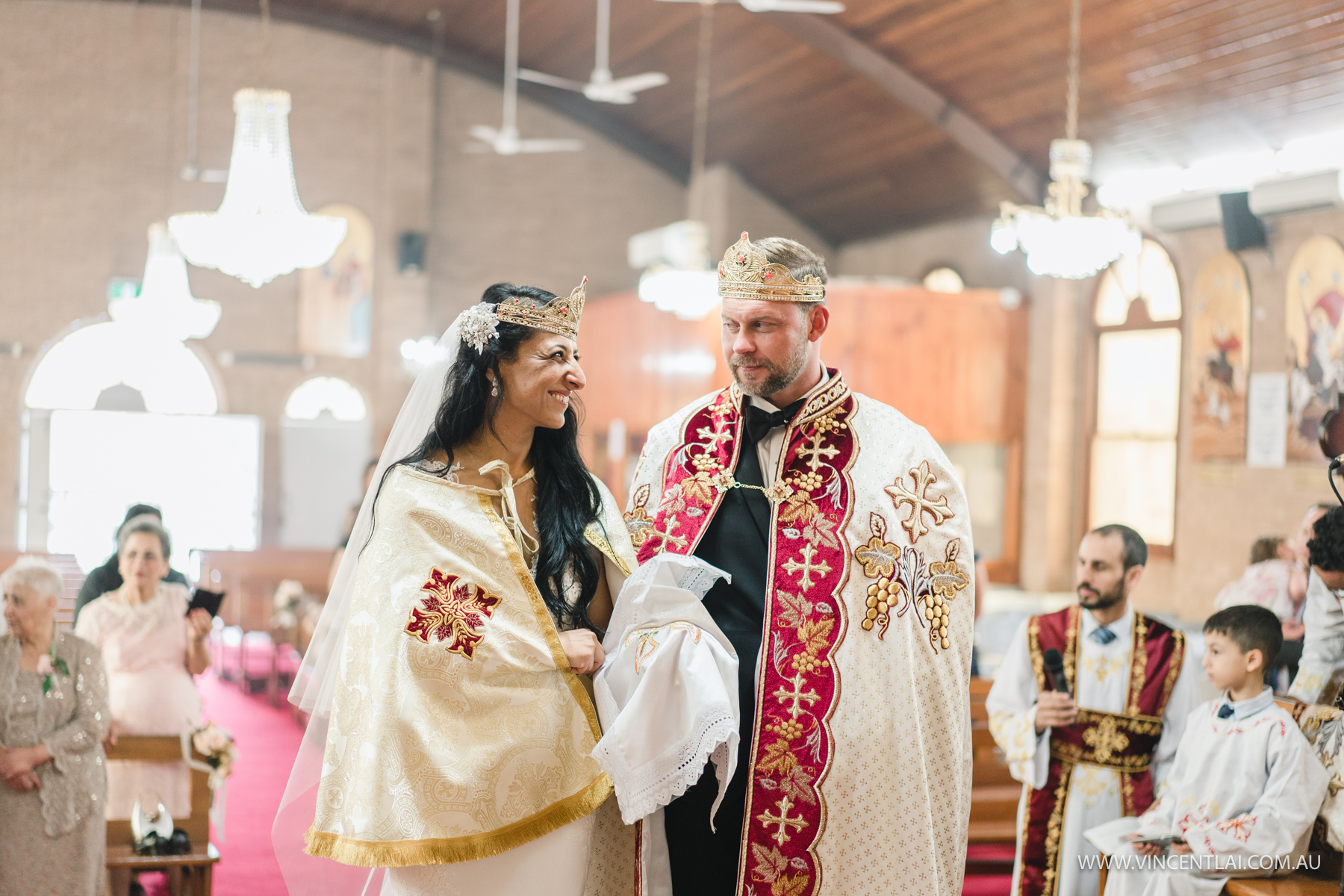 Wedding at Archangel Michael & St Bishoy Coptic Orthodox Church