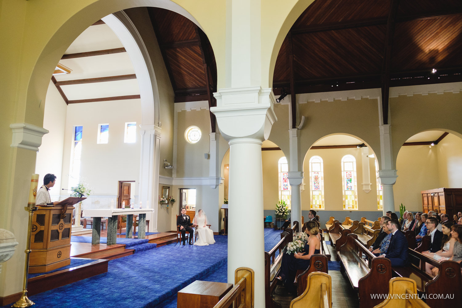 Blessed Sacrament Catholic Church Clifton Gardens Wedding