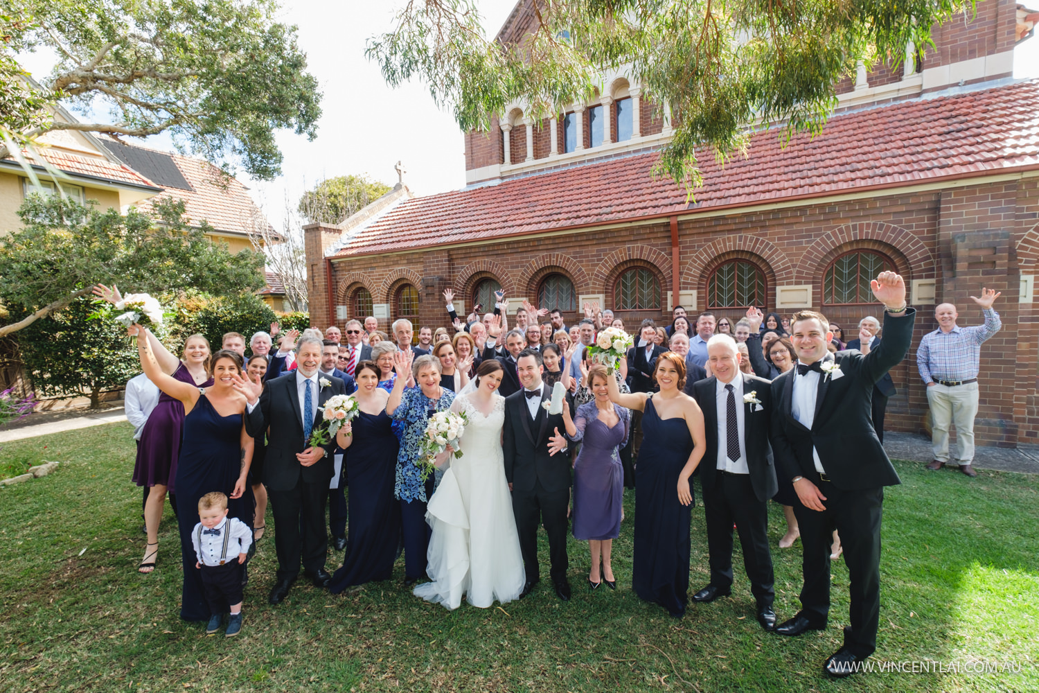 Blessed Sacrament Catholic Church Mosman Wedding