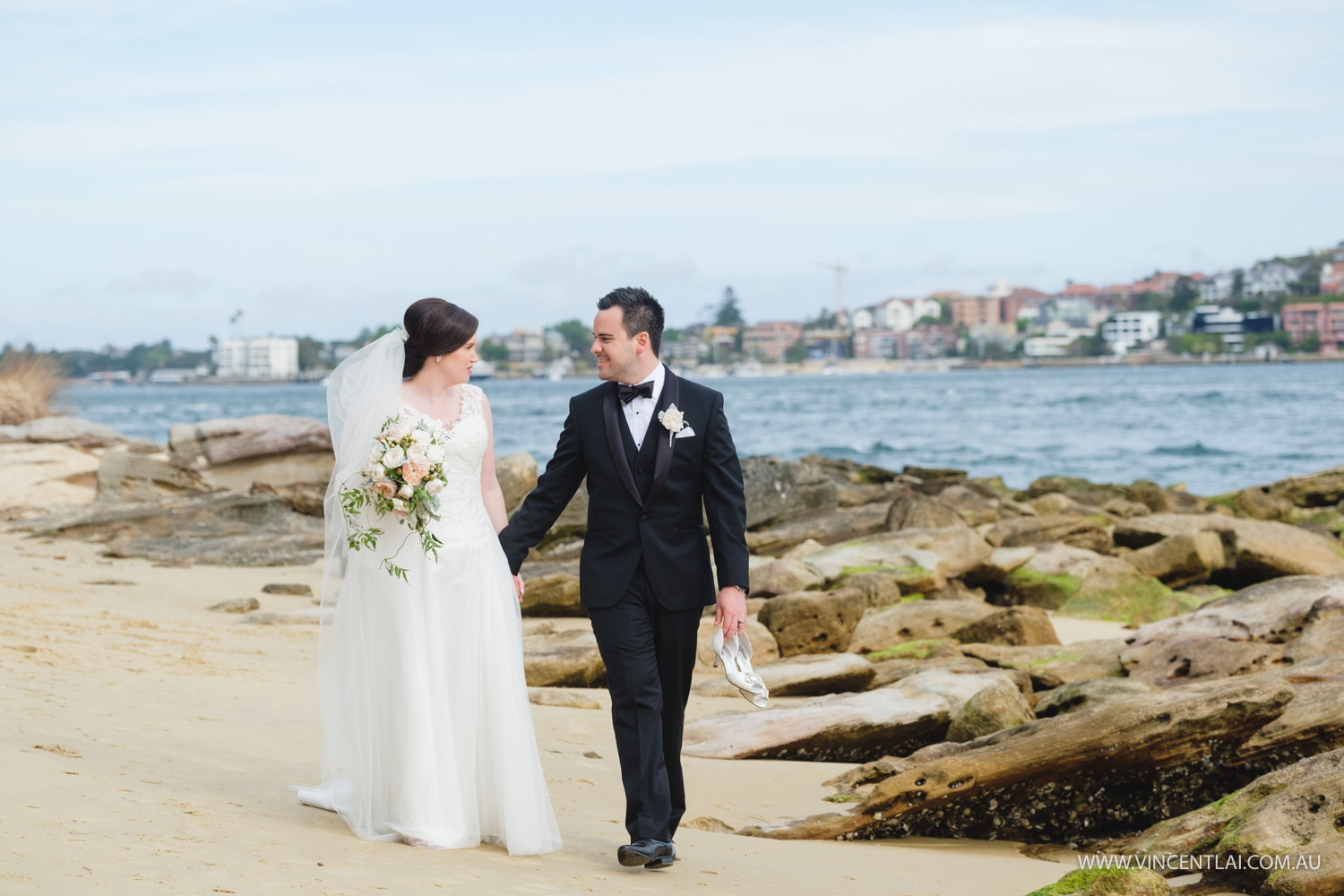 Wedding Blessed Sacrament Catholic Church Clifton Gardens and Zest Waterfront Venues