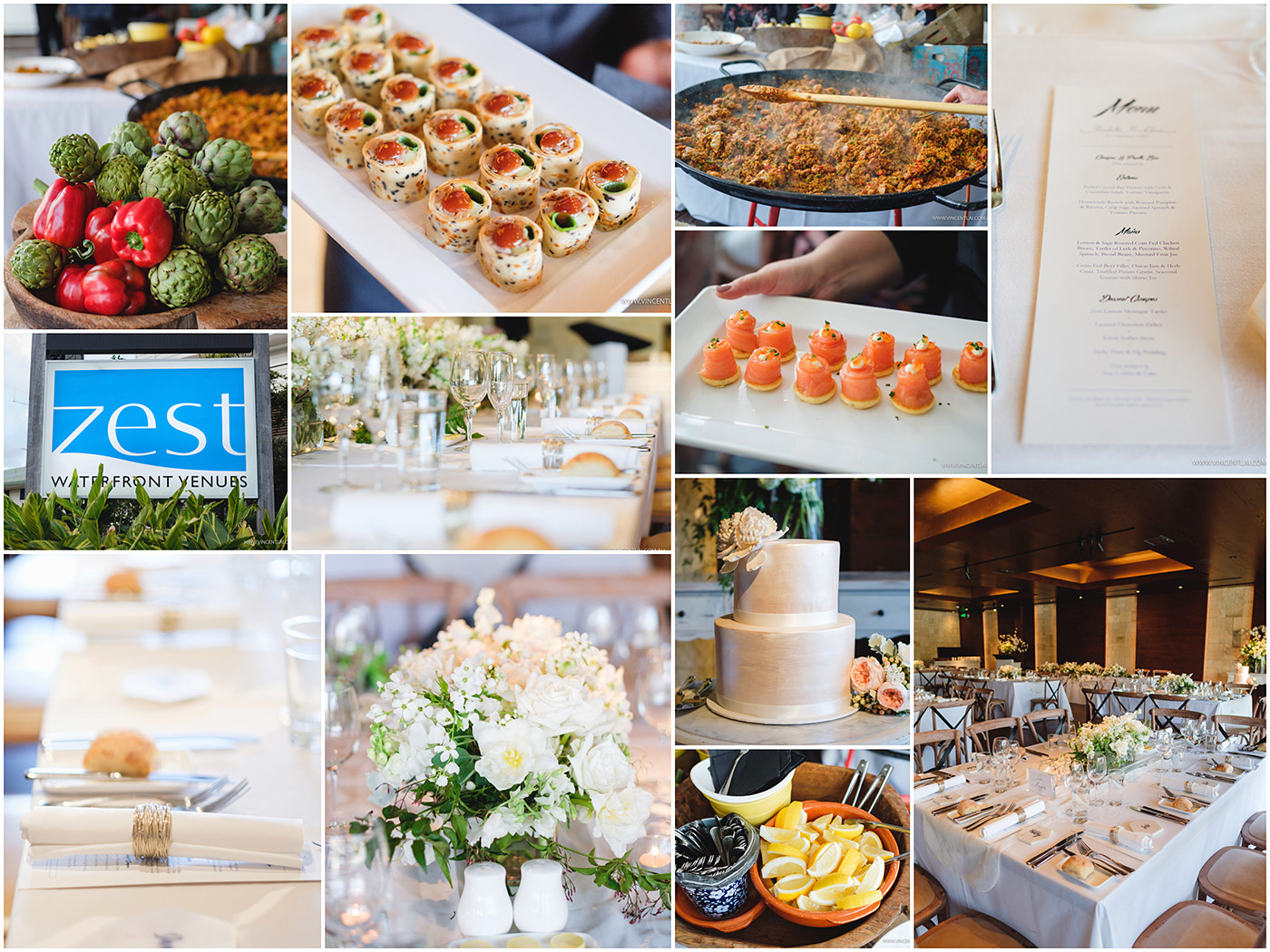 Weddings at The Spit Zest Watefront