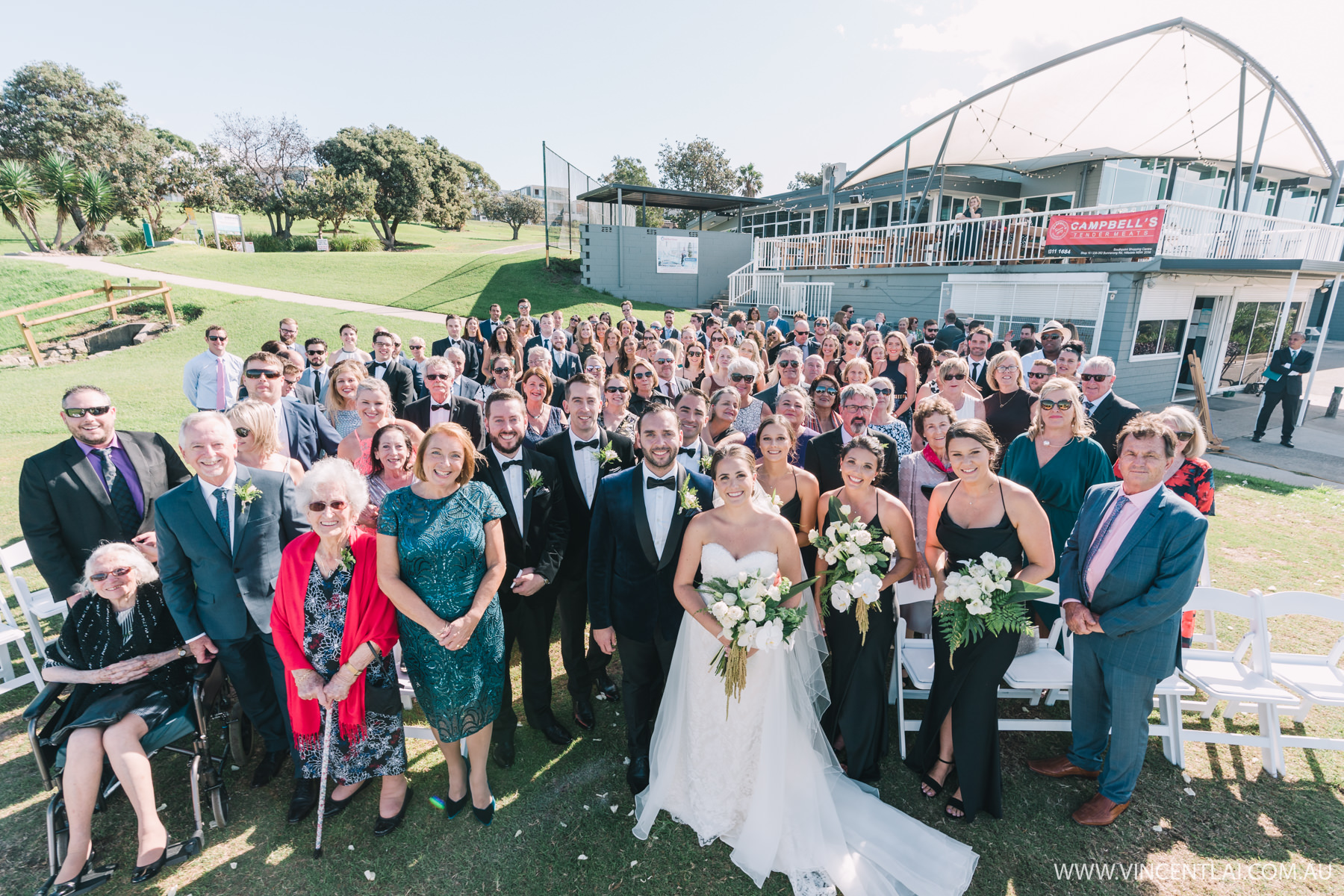 Wedding at Randwick Golf Club