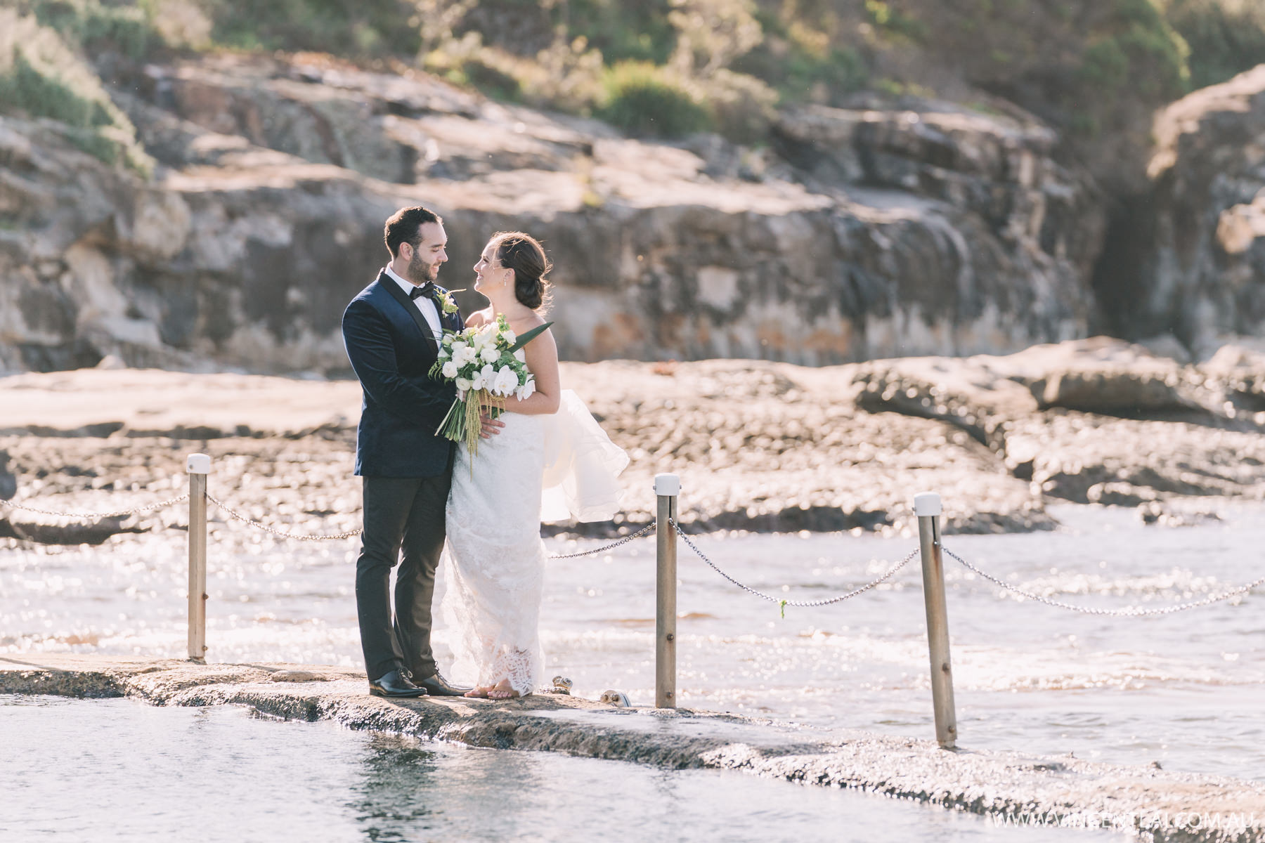 Malabar Rock Pool Wedding Photos