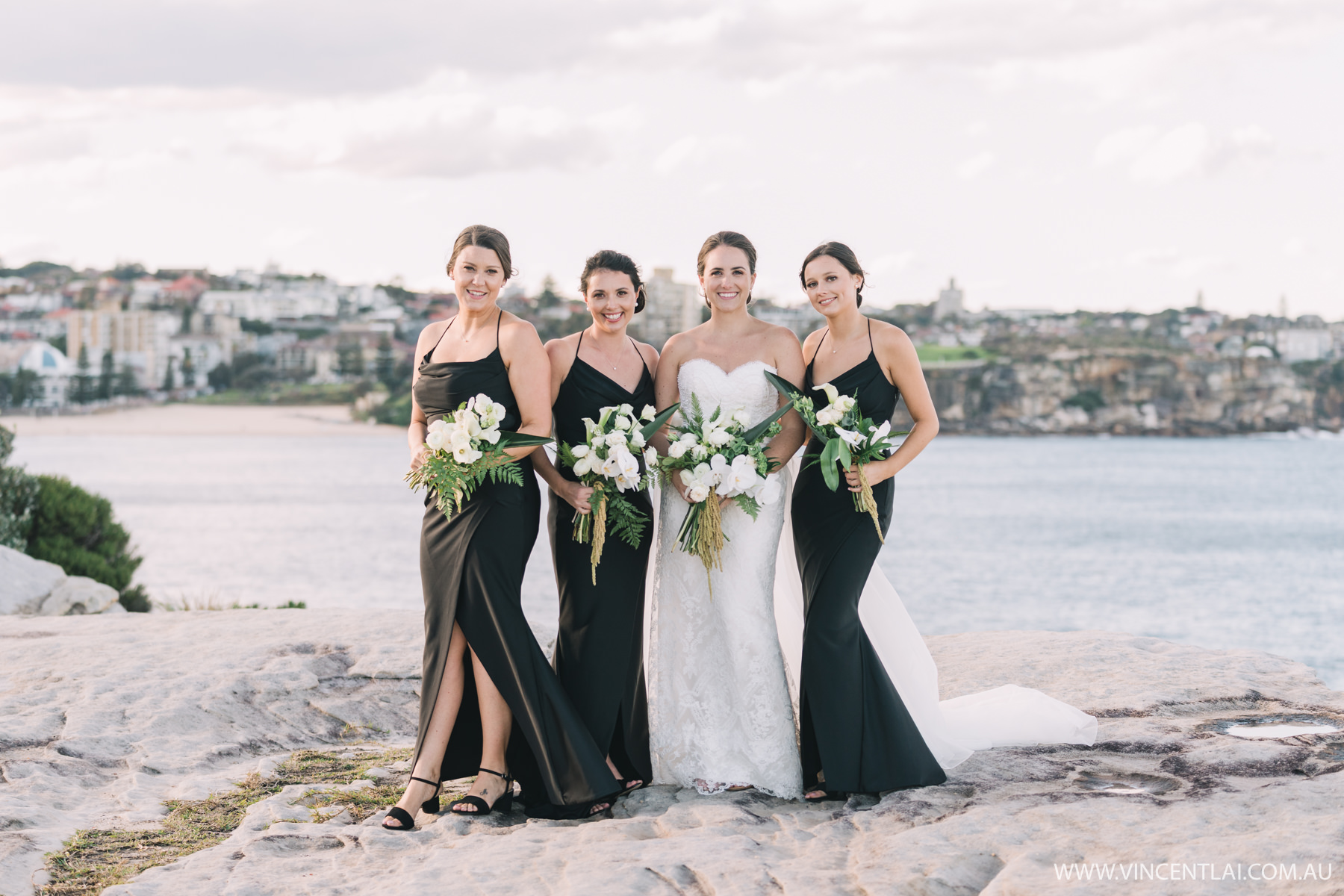 Wedding at Wylie's Baths Coogee Beach