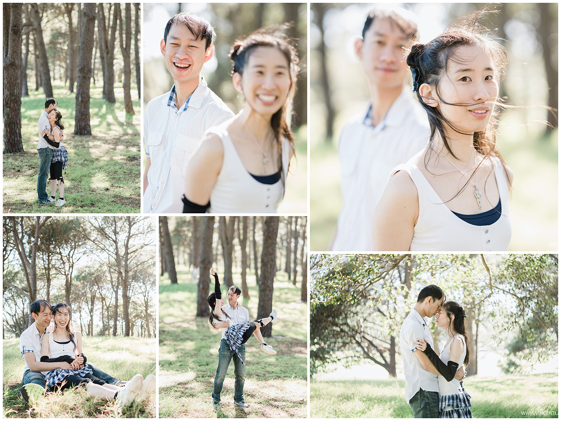 Centennial Park Prewedding Photography