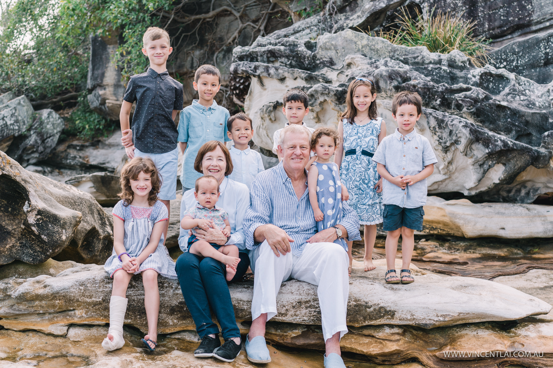 Extended Family Photo Session at Balmoral Beach Mosman