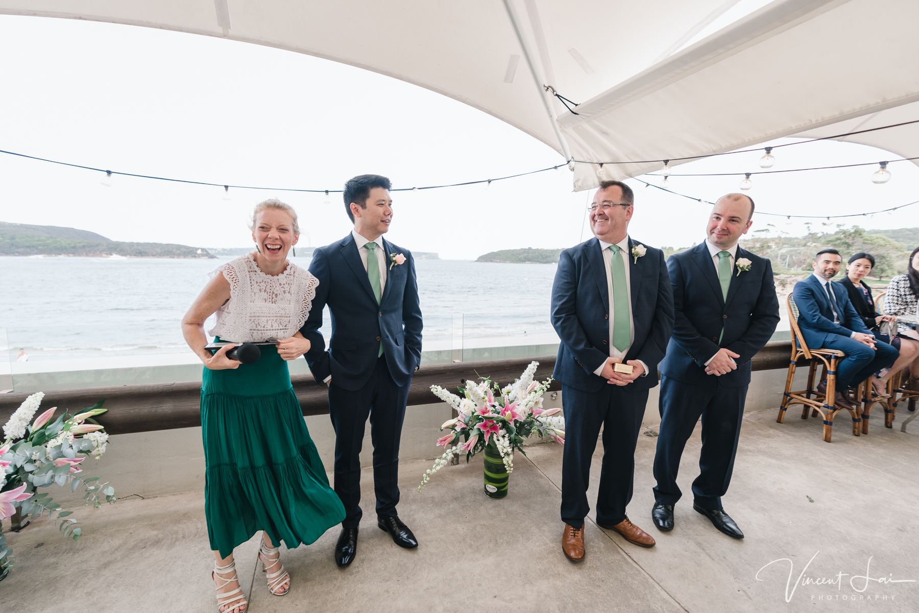 Wedding at Bathers' Pavilion Balmoral Beach