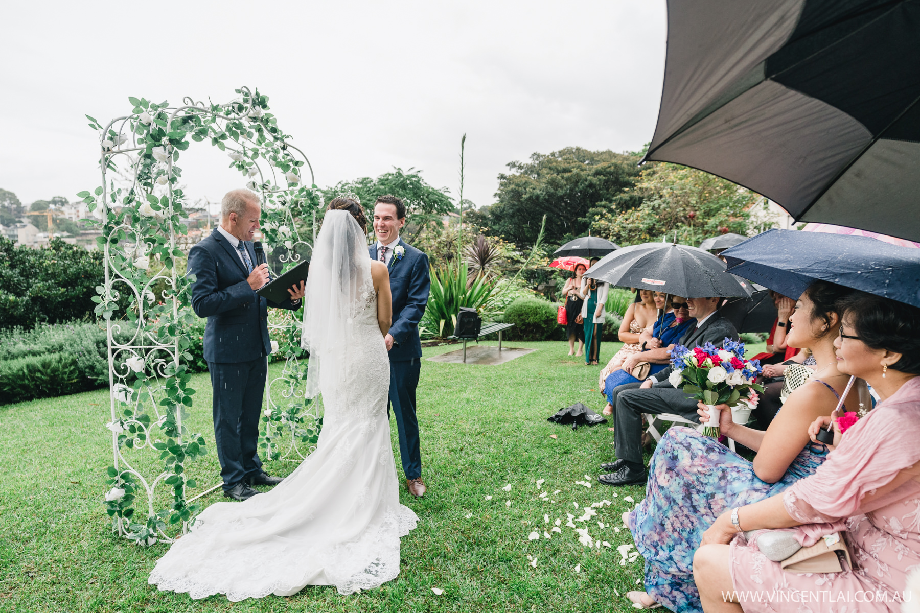 Wedding at Clark Park Milsons Point