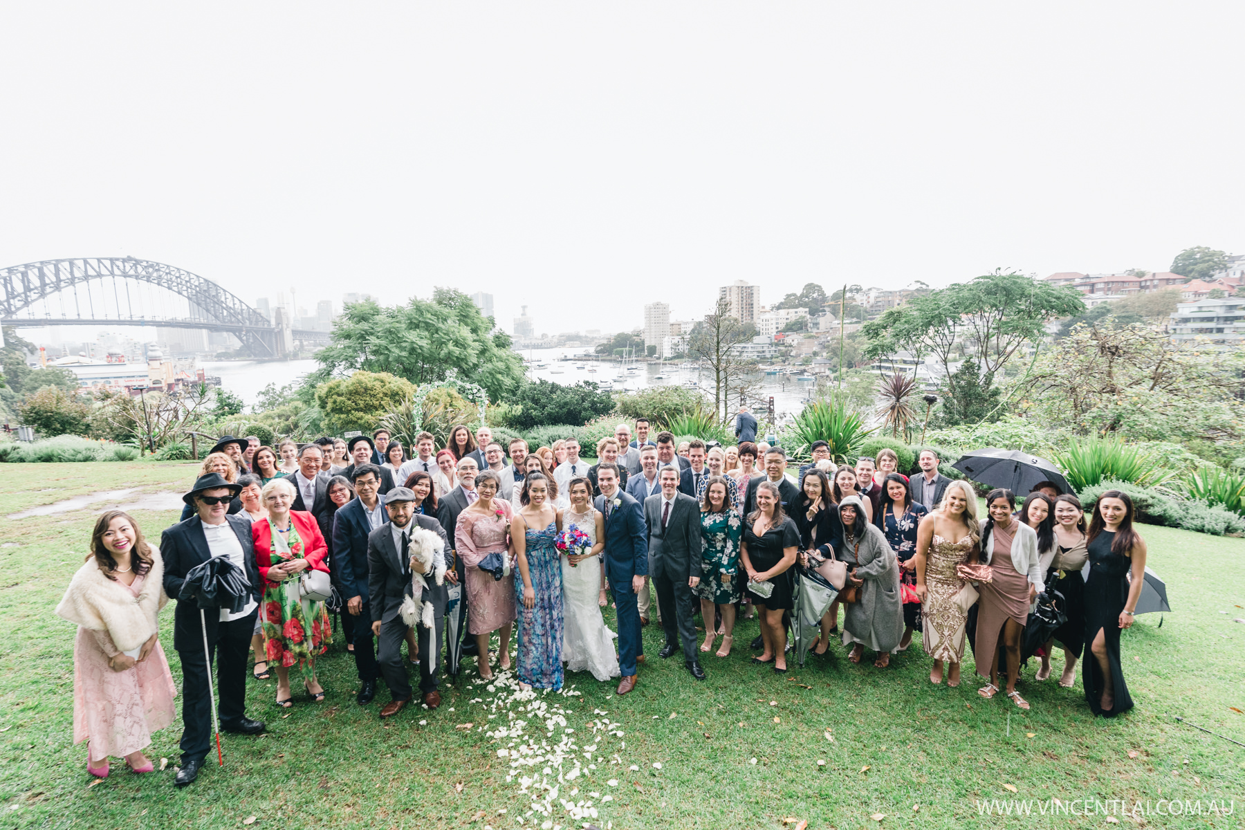 Clark Park Lavender Bay Wedding