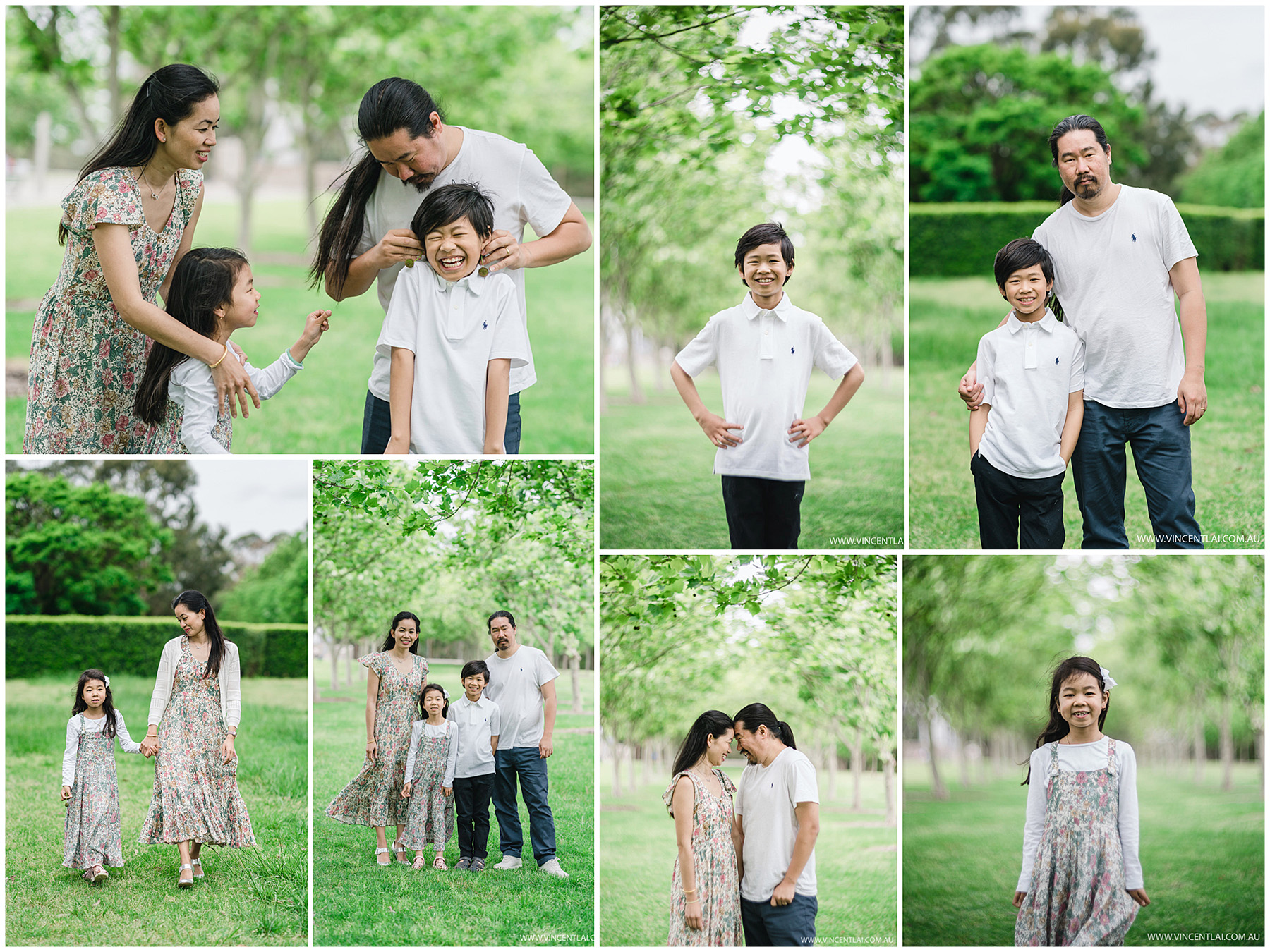 Bicentennial Park Family Photos