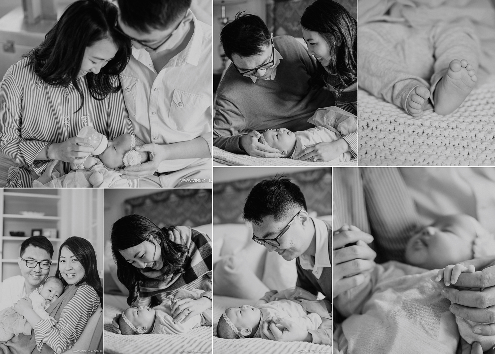 Sydney South West Lifestyle Newborn Family Photographer