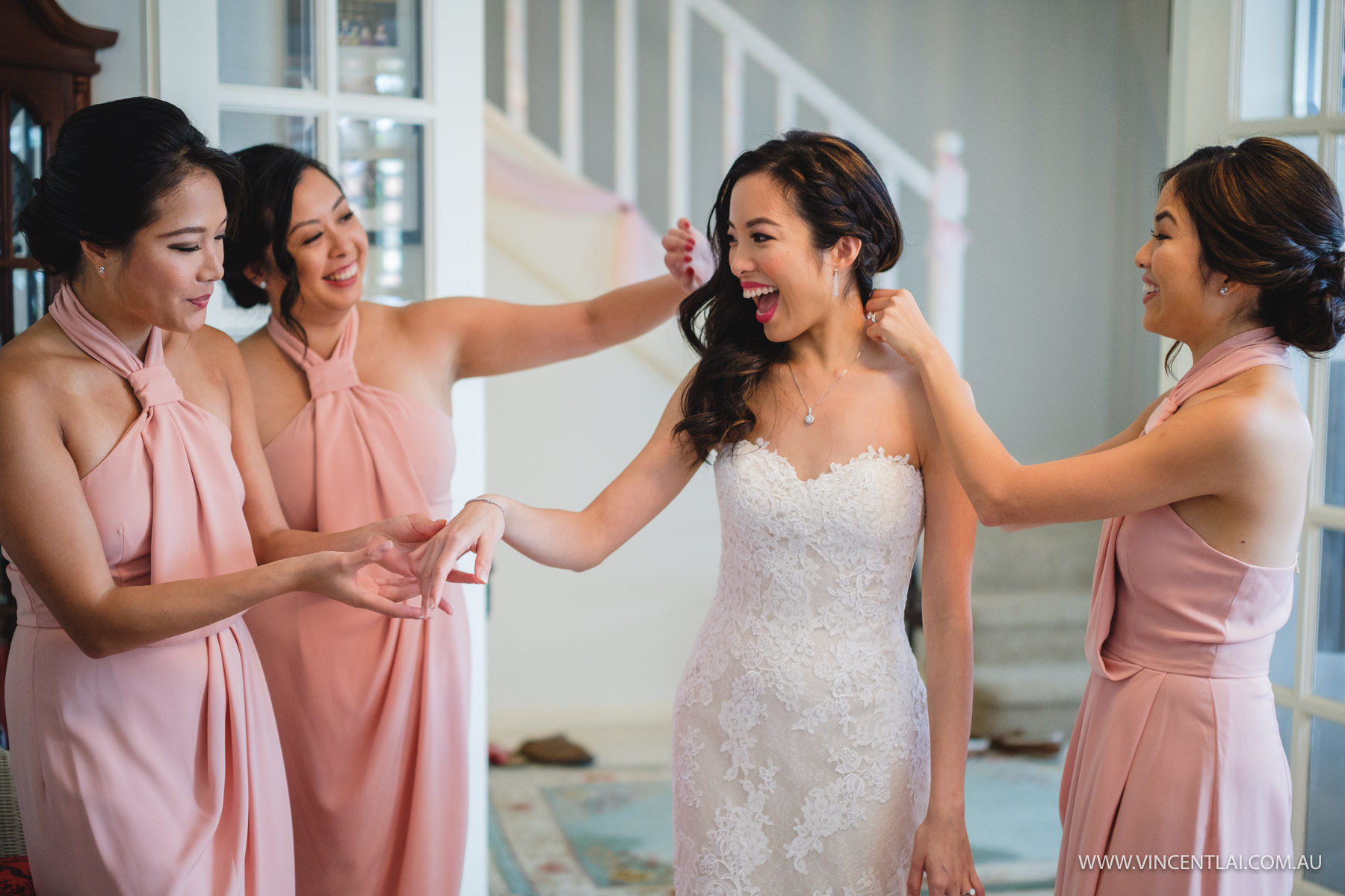 Beautiful Sydney Bride and Bridemaids