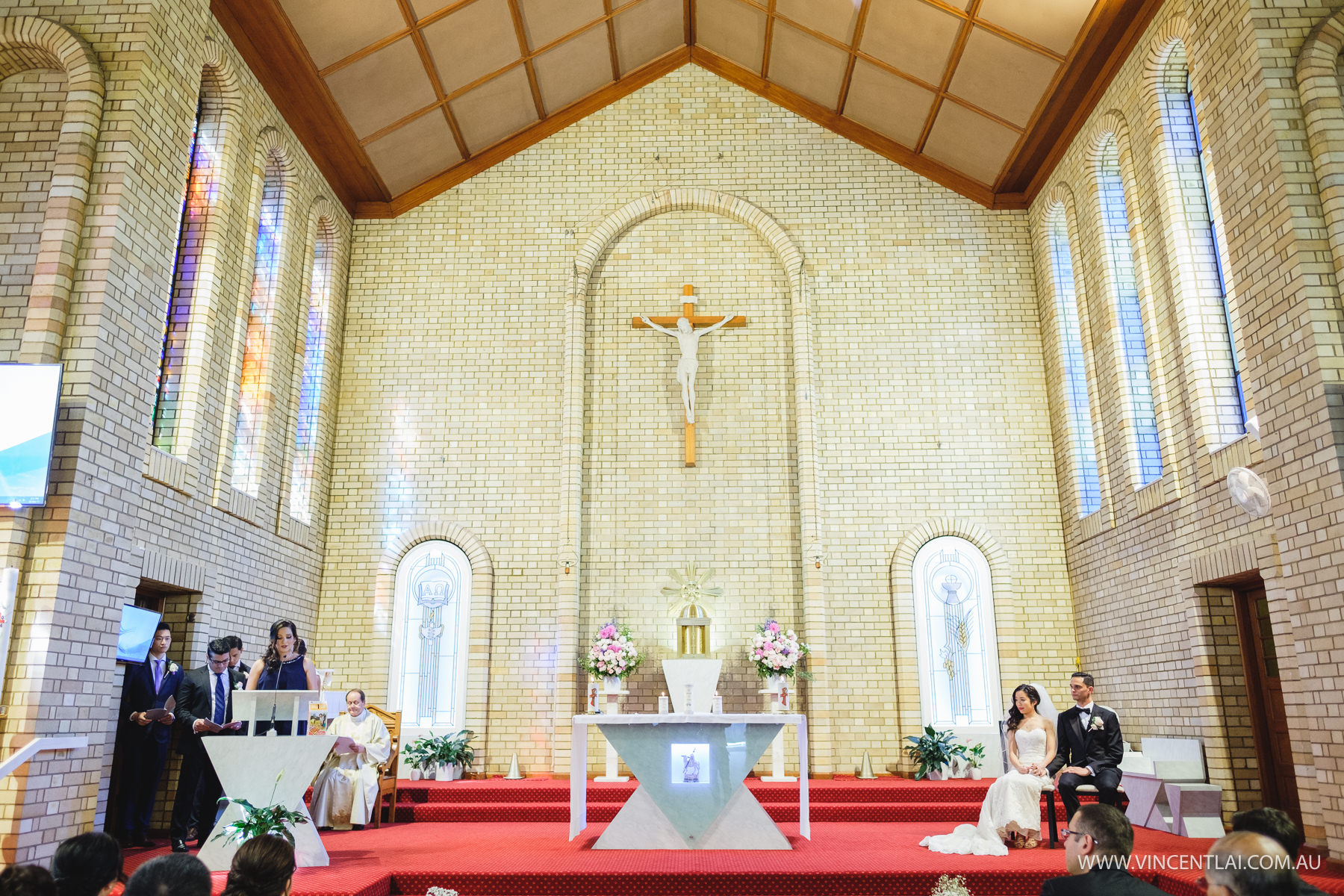 St Therese Catholic Church Wedding