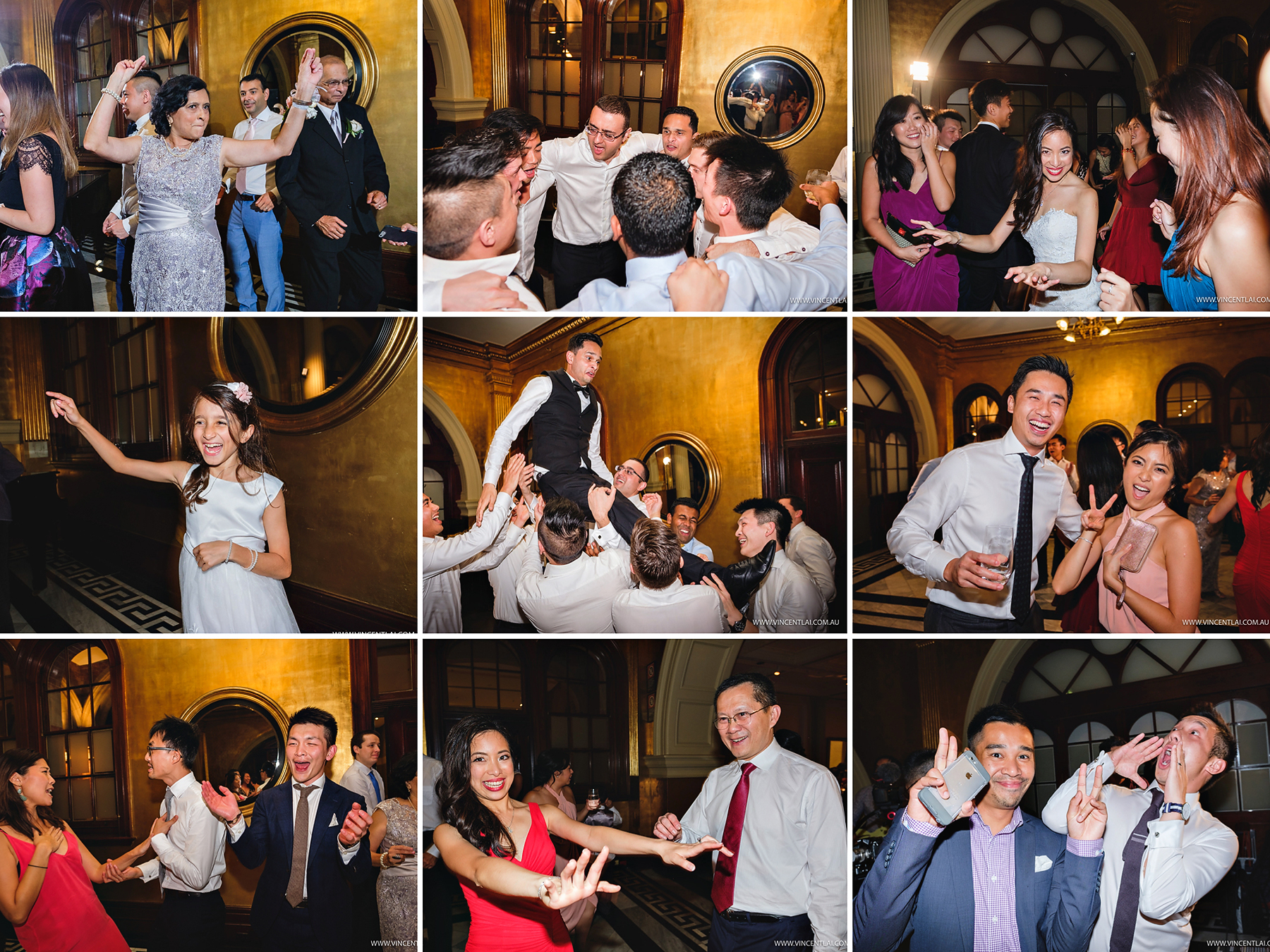 Intercontinental Sydney Treasury Lounge Wedding Reception