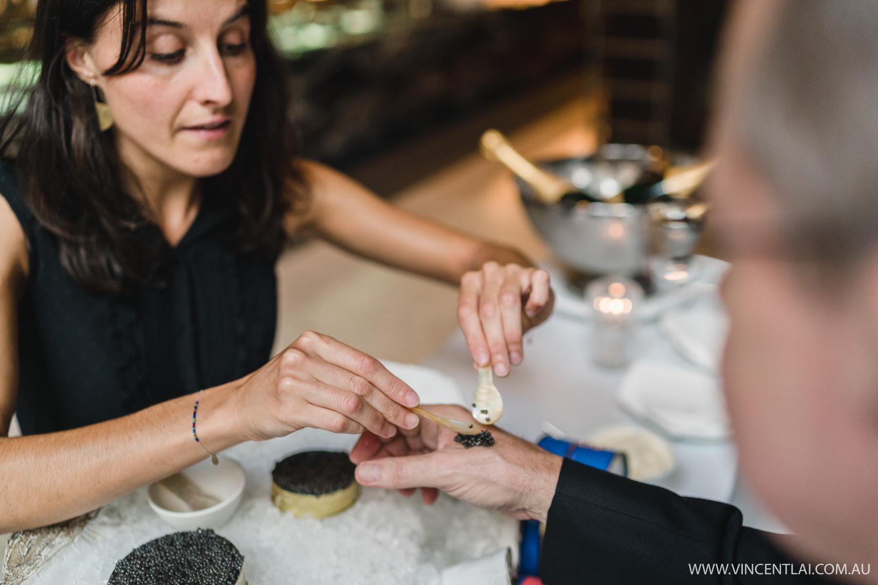 Black Pearl Beluga Caviar Station