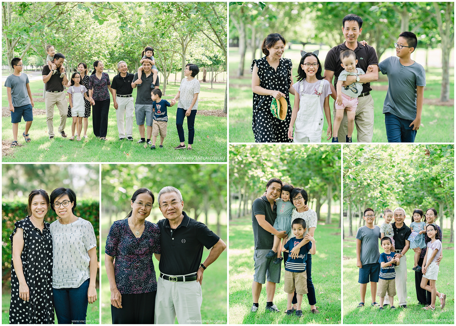 Family Photo Session Bicentennial park