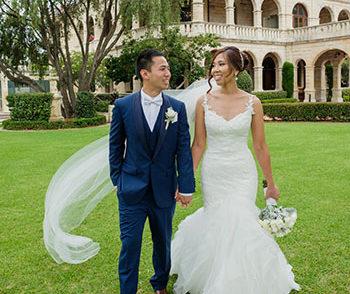 St Thomas Church North Sydney and Curzon Hall Wedding Reception