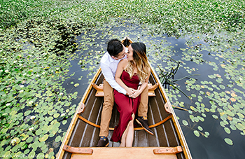 Audley Boatshed Engagement Photography Session