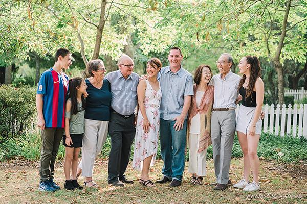 Family Photos at Fagan Park Dural