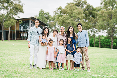 Lunar New Year Family Photo