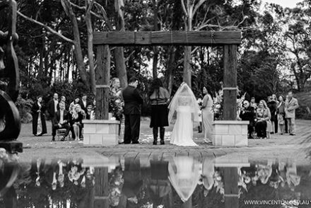 Wedding at Tumbling Waters Retreat Stanwell Tops